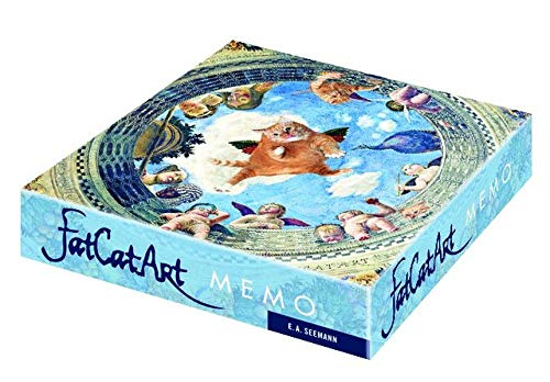FatCatArt. Memo: Gedächtnisspiel mit 36 Kunstwerken und einer fetten Katze: Gedchtnisspiel mit 36 Kunstwerken und einer fetten Katze