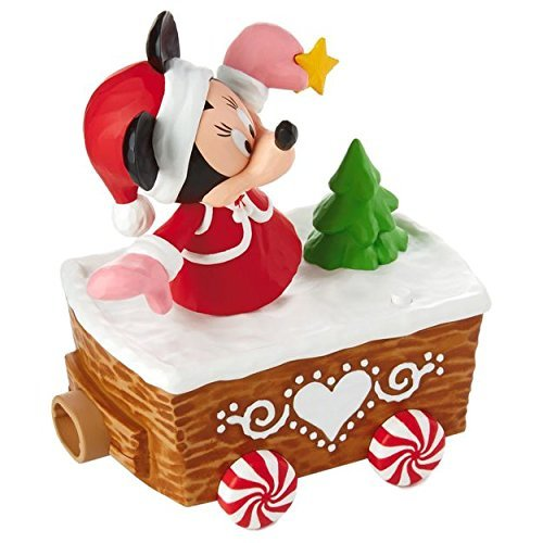 Hallmark XKT2133 Disney Christmas Express, Minnie Mouse Train Accessories