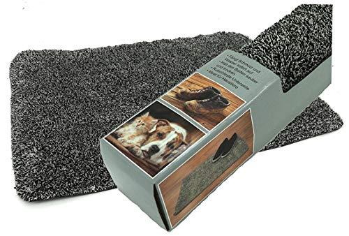 heimtexland ® Schmutzfangmatte Fußmatte Haustier Hochflor Teppich Türvorleger 70x46 Türmatte Typ653