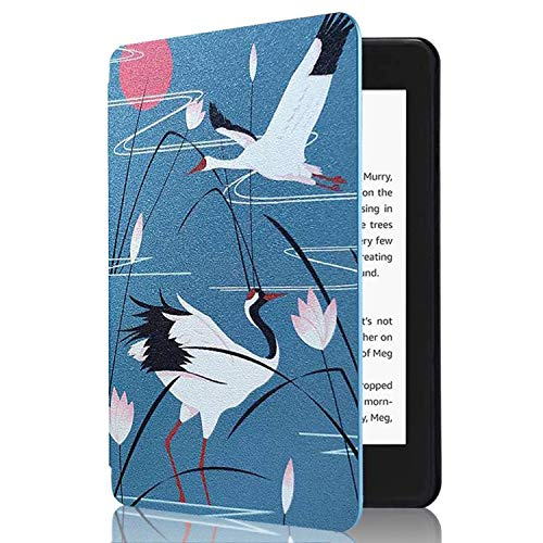 CoBak Kindle Paperwhite Case - Latest PU Leather Smart Cover with Auto Sleep Wake Feature for Kindle Paperwhite 10th Generation 2018 Release