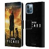 Head Case Designs sous Licence Officielle Star Trek Picard Poster 2 Art Clé Coque en Cuir à Portefeuille Compatible avec Apple iPhone 12 / iPhone 12 Pro