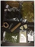 catappa-leaves Paquete de acuario natural puro 01  Worldwide Selection XL (set n.º 01 de muchos), 10 productos naturales saludables con instrucciones de uso (idioma español no garantizado).