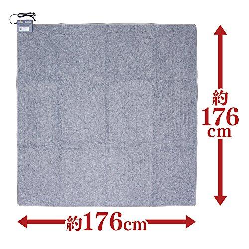 アイリスオーヤマホットカーペット2畳176×176cmIHC-20-H
