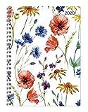 Ladytimer Ringbuch Flowers - Taschenkalender A5 - Kalender 2020 - Alpha Edition-Verlag - Eine Woche auf 2 Seiten - Buchplaner mit Platz für Termine und Notizen - Format 15 cm x 21 cm