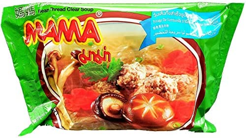 MAMA Ramen Style Instant Oriental Noodles Bean Thread Clear Soup Flavor 10 Pack product image