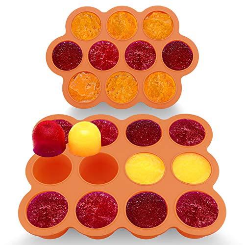 Silikon Babynahrung Aufbewahrung Gefrierbehälter Einfrieren von Alle Sorten