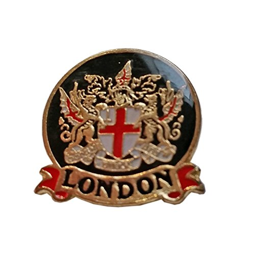 Emaille Pin Badge, London City Crest ? London Souvenir Pin Badge Details City of London Crest