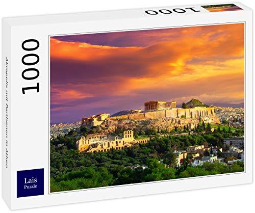 Puzzle Acrópolis con el Partenón en Atenas 1000 Piezas