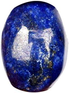 Lapislázuli azul natural 18.90 ct Oval Cabochon Lapislázuli azul escamado dorado hermoso Piedra preciosa suelta con certif...
