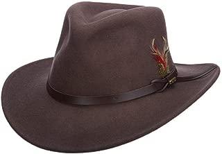 Classico Men's Crushable Felt Outback Hat