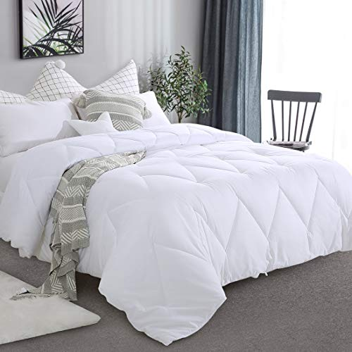 Buy Bargain Starcast All Season Queen Size Soft Quilted Down Alternative Bedding Comforter 100% Cott...