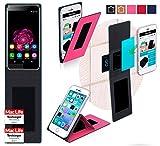 reboon Hülle für Oukitel U15s Tasche Cover Case Bumper | Pink | Testsieger