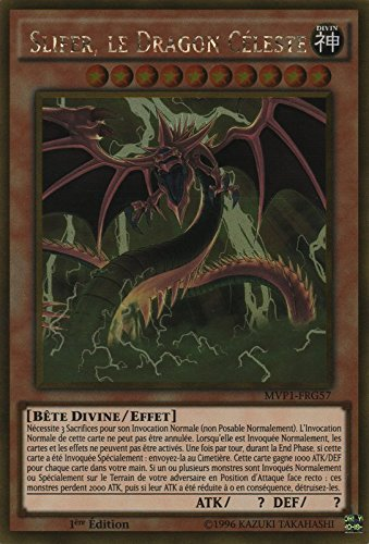 Carte Yu-Gi-Oh! 'Slifer, le Dragon Céleste' MVP1-FRG57 - VF/GOLD