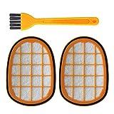 FangFang FC6822 FC6823 FC6827 FC6908 FC6906 FC6904掃除機の部品用のフィルタキット137 * 98 * 18ミリメートルクリーニングブラシ家庭用クリーニング