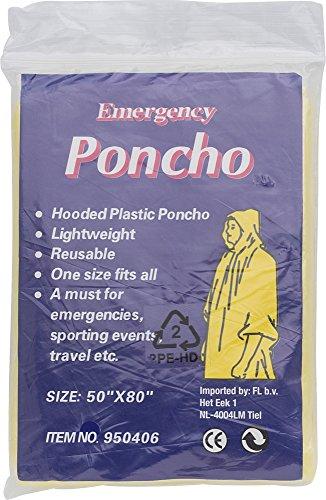 Notfall-Poncho Universum, idial für Festivals, klein und schnell verpackt, Regencape,...
