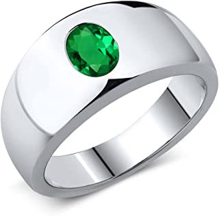 Best green stone rings for mens Reviews