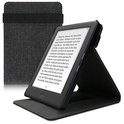 kwmobile Funda Compatible con e-Reader Kobo GLO HD/Touch 2.0 - Carcasa de Tela para Lector electrónico Textil
