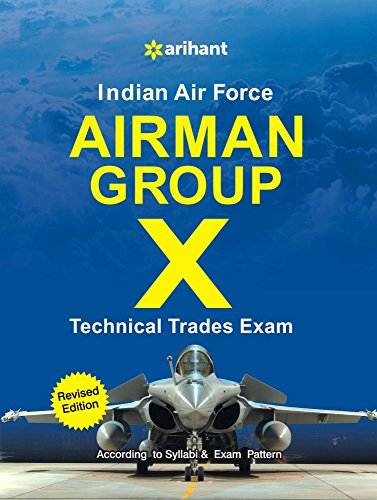Indian Airforce Airman Group 'X' (Technical Trades)(Old Edition)