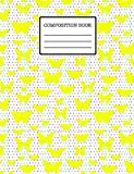 Butterfly Composition Book: Cute Butterfly, Wide Ruled Composition Notebook (7.44 × 9.69), Butterfly Journal, 120 Pages.