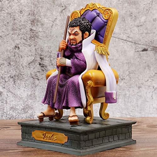 JINFENFG One Piece/One Piece Admiral GK ISSHO Fujitora Sitio Sitting Postura Estatua 20 cm (7.88in) En Caja/PVC Estatua estática/de carácter Modelo de carácter Muñeca Figur