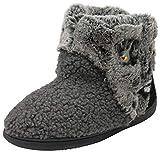 Dunlop Zapatillas unisex para hombre y mujer, color Negro, talla 38/39 EU