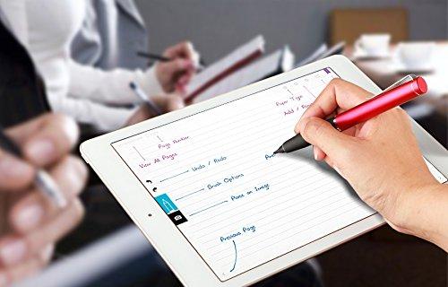 『Acase Active Sense ペン先 2mm スタイラスペン 自己静電発生式 グレー 【国内正規品】』の3枚目の画像