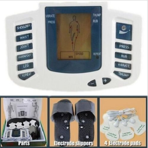Multi-Function Digital Meridian physiothérapie Instrument Corps Relax Muscle Pulse TENS d'acupuncture masseur