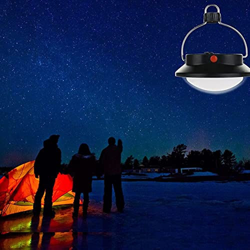 LEMORTH 6 0led Luz Solar, luz de campaña al Aire Libre, hogar Super Brillante USB Luz Nocturna, Mercado Nocturno Light Stall Light Lighting, Luz de Emergencia