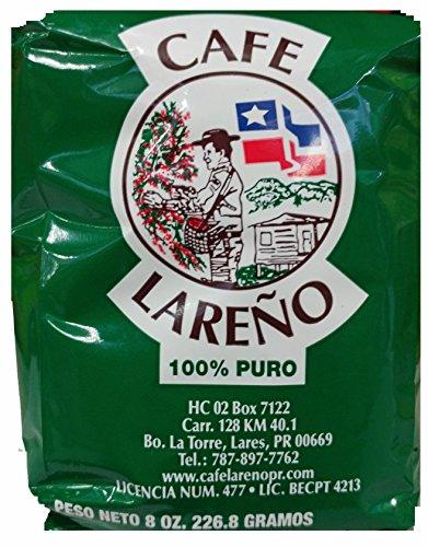 Cafe Lareno Puerto Rican Coffee 8 Ounce Bag