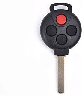 ACUMSTE Keyless Entry Remote Control Car Key Fob Replacement for Smart ForTwo 2008-2015, KR55WK45144