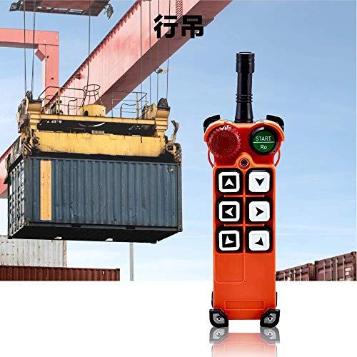 MXBAOHENG Telecontrol F21-E1 Industrial Funkfernbedienung AC/DC Wireless Control für Kran, 1transmitter und 1receiver