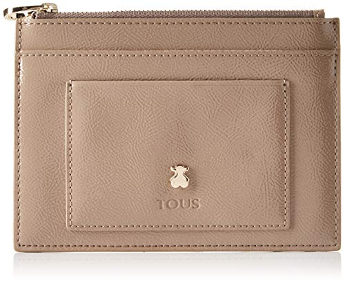 TOUS Dorp, Organizadore de bolso para Mujer, Beige (Topo 995970527), 15.7x11x0.5 cm (W x H x L)