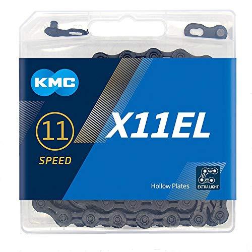 ケイエムシー(KMC) X11EL 11SPEED 用チェーン BLACK 118L KMC-X11EL-BK-N
