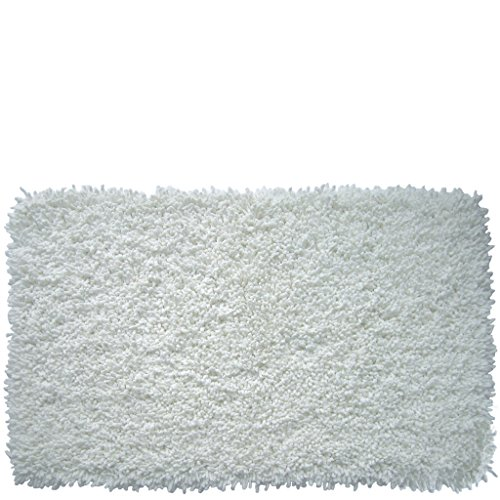 Laroom 11078–Tappeto Cotone Churros 4cm, Colore: Bianco