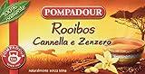 Pompadour Rooibos Cannella e Zenzero - 20 filtri - [confezione da 3]