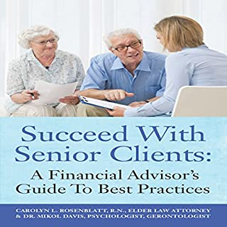 Succeed with Senior Clients audiobook cover art