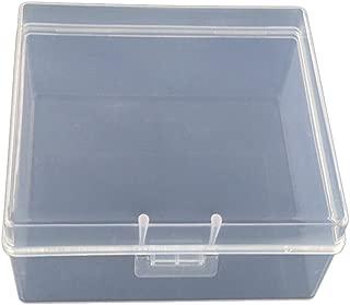 La Cabina R/églable 15 Compartiment Bo/îte de Rangement en Plastique Cas de Boucle bo/îte /à bijoux bo/îte de m/édecine orange