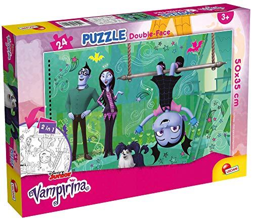 Lisciani Giochi- Disney-Vampirina Puzzle DF, 24 Pezzi, Multicolore, 50X35 cm, 74013