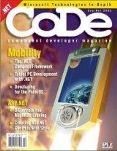 CODE Magazine - 2003 - September/October (Ad-Free!) (English Edition)