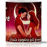 Taza San Valentín para ella y para él. Tú eres el Mio Amor ... Taza romántica regalo para novio y aniversario