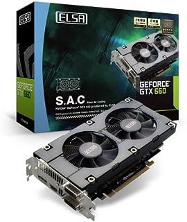 ELSA NVIDIA GTX660チップセット S.A.C 搭載グラフィックカード GD660-2GERX 【PCI-Express3.0】