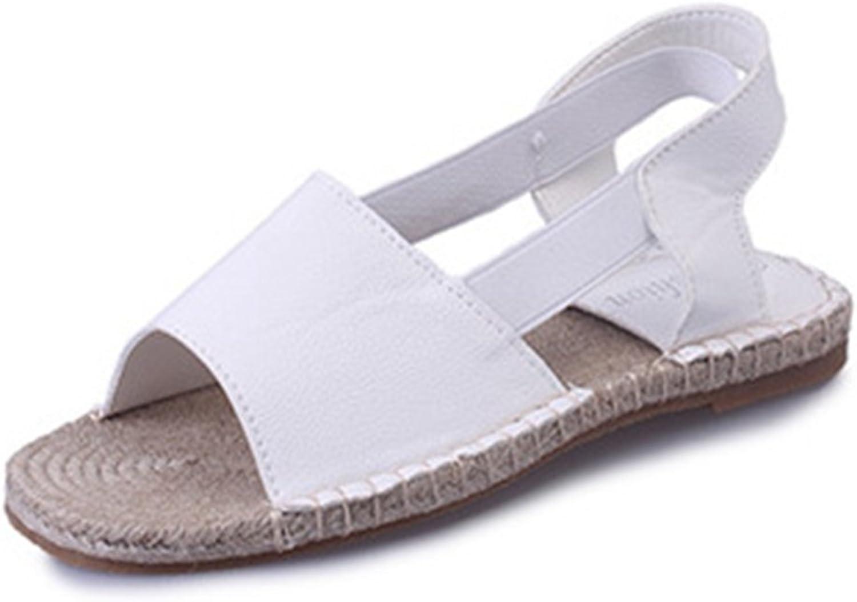 Zarbrina Womens Flat Sandals Students Fisherman Summer Casual Soft Ankle Strap Slingback Roman Beach shoes