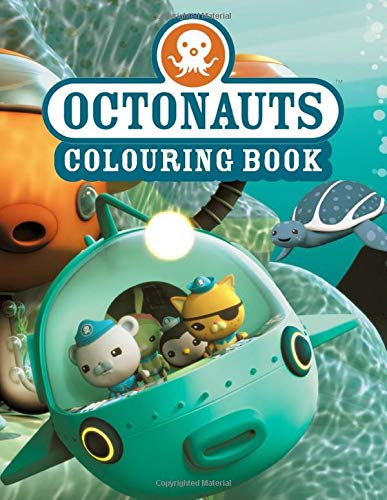 Octonauts Colouring Book: Great Coloring Books for Kids Ages 4-12