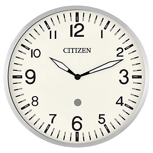 Citizen Clocks Citizen Smart Echo CC5012 Wanduhr mit Mehreren Timern, silberfarben