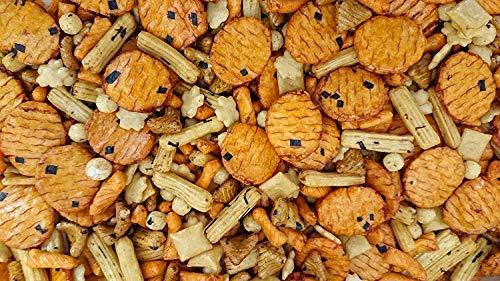 Palitos de Arroz Frito Yamato en Pack de 1 kg | Aperitivo Mix Salados | Surtido Variado Asiático de Arroz, Tapioca y Chili | Toque a Sal, Soja y un poco Picante | Dorimed
