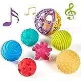 CubicFun Bolas Sensoriales para Bebés Juguetes Bebe 6 Meses a 1 año Multi...