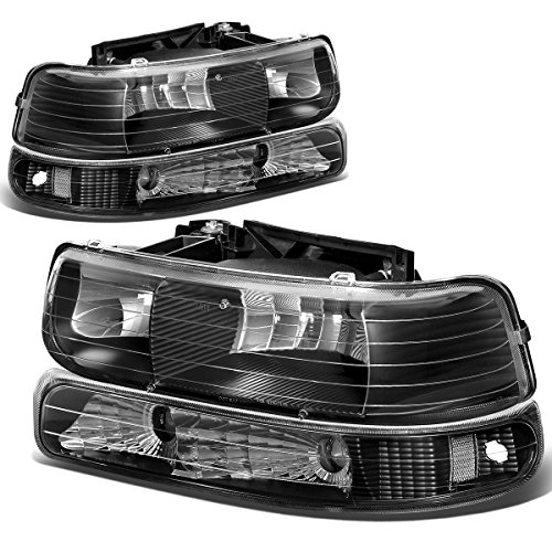 2001 chevy tahoe black headlights - 2