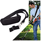 Mgiesg Shoulder Strap,Weed Wacker Strap,Blower Strap for EGO String Trimmer and All Types,Leaf Blower Multi Head System Black
