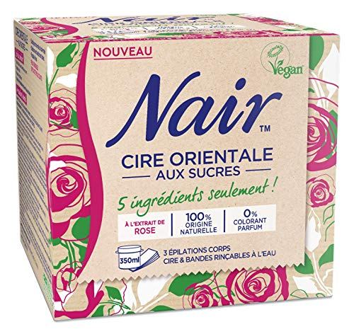 Nair - Cire Orientale aux Sucres - à l'extrait de rose...