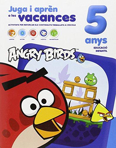 Angry Birds 5 anys: Juga i aprèn durant les vacances